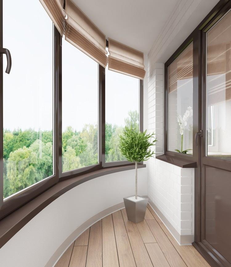 эркерный балкон