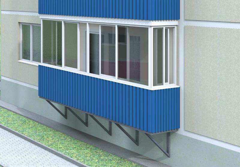 пристрой балкона