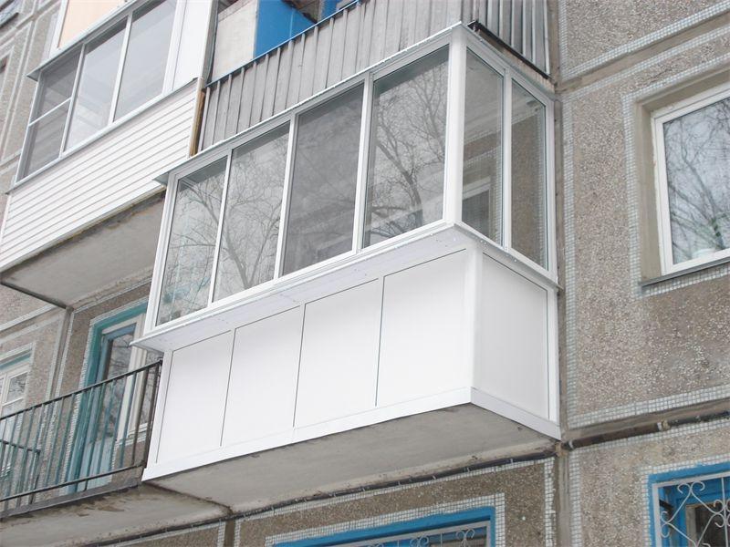 Вынос балкона.