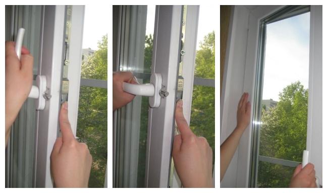 окно не открывается